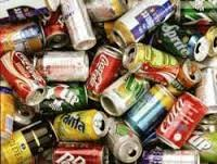 Aluminum Cans - beverage cans ONLY. No other kinds of aluminum.